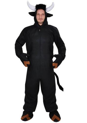 Stier offen Einheitsgrösse XXXL - XXXXL Kostüm für Personen bis 2,0 Meter Grösse