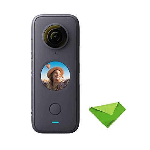 EACHSHOT Insta360 One X2 Panoramic Action/Sport Camera 5.7K Video 10M Waterproof FlowState Stabilization 1630mAh Battery…
