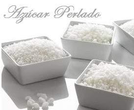 Azúcar Perlado 5 Kg - Azúcar para la Decoración de Gofres , Roscón de Reyes....y postres.( Foto Real del Producto )