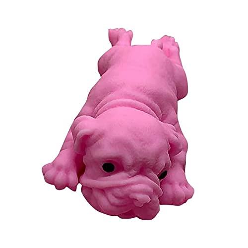UKKD Descomprime el Juguete Simulación Creativa Puppy Kawaii Dog Discompression Toy Regalo-E