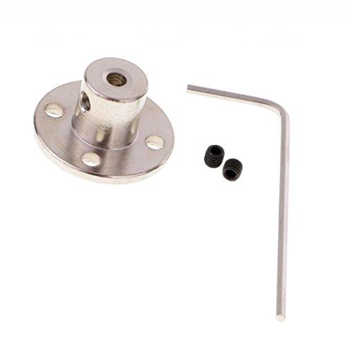 Dovewill - Conectores de acoplamiento rígidos de 4 mm a 8 mm para ejes de motor para piezas de bricolaje