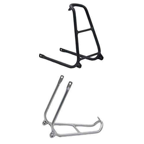 Generic Lot de 2 Porte-Bagages Arrière de Vélo,Universel Réglable Transporteur,Accessoires Équipement Support Footstock