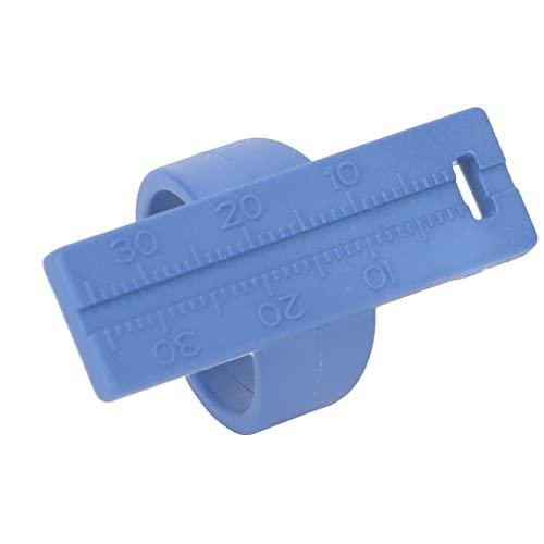 Anillo De Medición Endo, Anillo De Regla Endo, Instrumento De Escala De Medición Dental De Conducto Radicular Resistente A Altas Temperaturas De Plástico(azul)