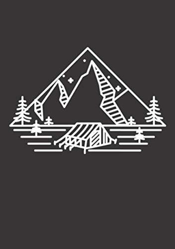 Notizbuch A5 kariert mit Softcover Design: Simple Camping Van Easy Life Camping Zelten: 120 karierte DIN A5 Seiten