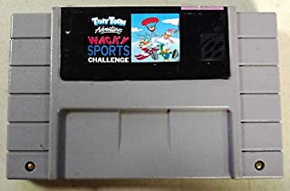 ASMGroup Tiny Toon Adventures Wacky Sports Challenge Good Quality 16 Bit Big Game Card For NTSC Game Player