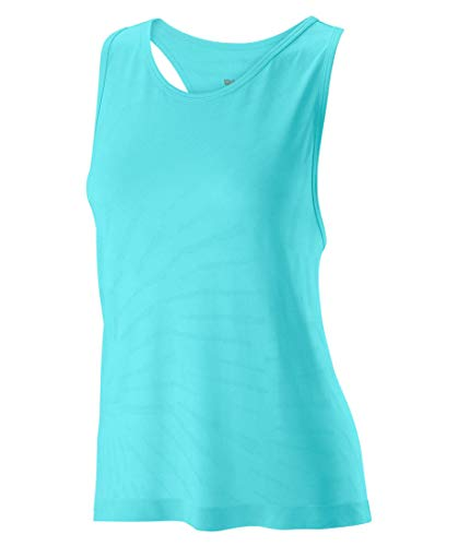 Wilson Competition - Camiseta sin Costuras para Mujer, Talla XS
