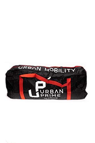 Urban Prime Move & Go, Bolsa Transporte Patines Eléctricos Unisex Adulto, Negro,...