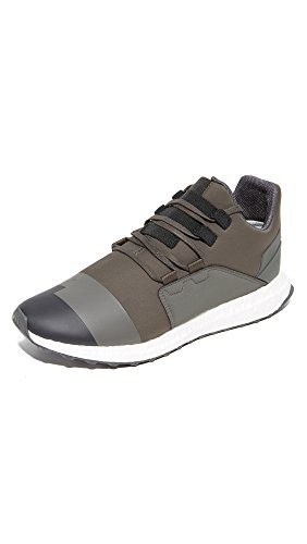 adidasCG3161 - Y-3 Kozoko flach Herren , Grn (Black Olive/Black), 39.5 EU