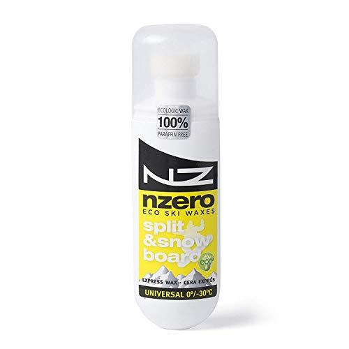 NZEROWAX – organische wax voor snowboard, universele gebruiker, snowboard, 100 ml, 100% plantaardig, duurzaam en ECO