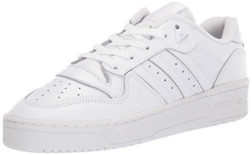 adidas Originals Rivalry Low Shoes, Zapatillas Deportivas. Hombre, FTWR White Core-Reloj de Pulsera, Color Blanco y Negro, 44 2/3 EU