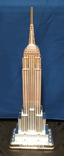 """New York Empire State Building Replica (Silver, 9"""")"""