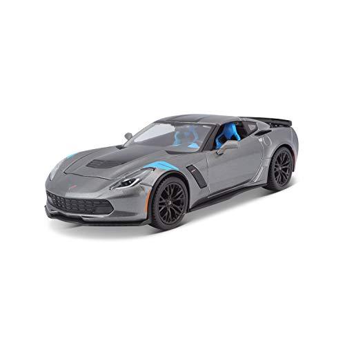 Maisto 531516 Corvette Grand Sport ´17 Modellauto, Grau, 1:24