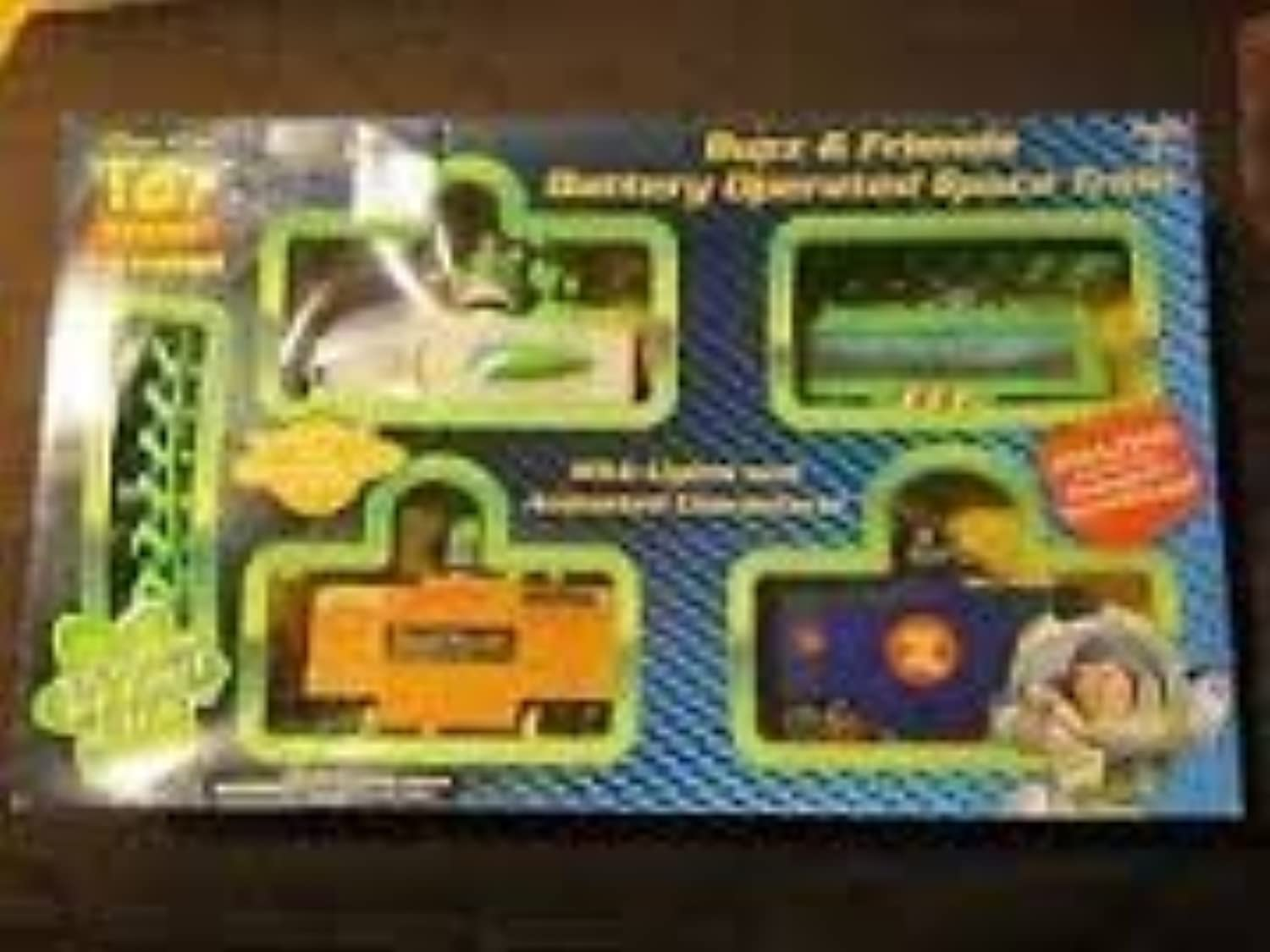 Toy Story Buzz & Friends Battery Operated Space Train by Planet Toys