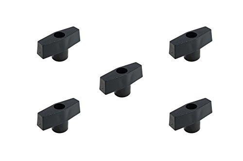 POWERTEC 71074 3/8-16 T Knob(5-Pack)