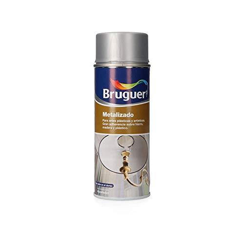 Bruguer 5198002 - Spray metalizado Bruguer 400 ml color PLATA
