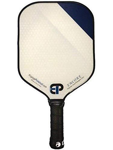 Engage Encore Pickleball Paddle   USAPA Approved   Textured FiberTEK Fiberglass Face & ControlPRO Polymer Core   LITE Weight 7.4-7.8 oz   Blue Fade