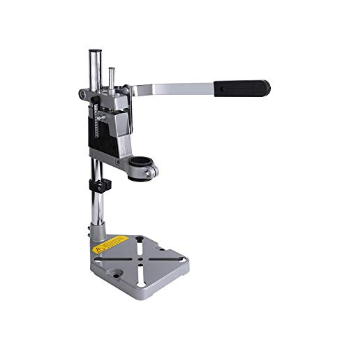 AYNEFY Bench Clamp, Universal Bench Clamp Drill Press Stand Workbench Repair Tool with Vise Slot for Power Drills with a Collar Diameter of 43 mm or 38 mm (1.7 inches or 1.48 inches)
