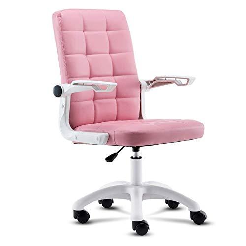 JPL Sillas de escritorio, silla de oficina Silla de escritorio Silla ergonómica para computadora Silla de cuero moderna Silla giratoria giratoria Ejecutiva para dolor de espalda Mujeres Hombres Adult