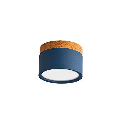 Raelf Downlight Multicolor Macarons Superficie montada Downlight Techo LED Proyector 5W-12W Aluminio Resplandor antirreflejo...