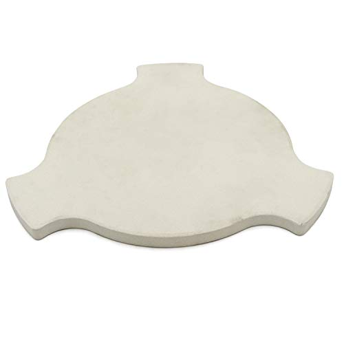 VICOOL Pizza Stone Heat Deflector Plate for Char-Griller AKORN Kamado...