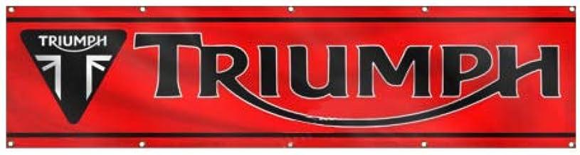 New Car Flag for Triumph Flags 90x150cm 3x5ft Wall Garage Decor Red