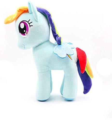 N/L 35cm Peluche My Little Pony Toy - Rainbow Dash Peluche Bambola Giocattolo Regalo per Bambini