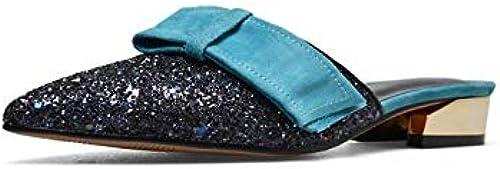 HommesGLTX Talon Talon Talon Aiguille Talons Hauts Sandales Nouveau Mode Femmes Chaussures De Haute Qualité Paillettes Tissu + Sandales en Cuir des Femmes D'été Les Les dames Chaussures De Mariage 8b9