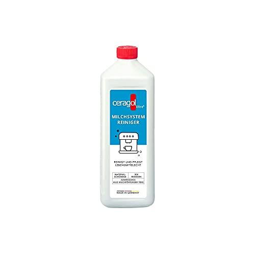 ceragol ultra Milchsystemreiniger – Milchschaum-Reiniger für Kaffee-Vollautomaten und Milchaufschäumer, effektiver Milchkreislauf-Reiniger, 1000 ml für 50 Anwendungen