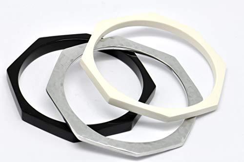 Culture Mix Armband aus Kunstharz und Metall