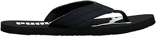 Puma Unisex-Erwachsene Cozy Flip Zapatos de Playa y Piscina, Schwarz Black-Castlerock, 46 EU