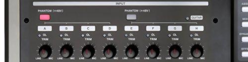 Tascam DP-24SD 24-Track Digital Portastudio Multi-Track Audio Recorder , Black