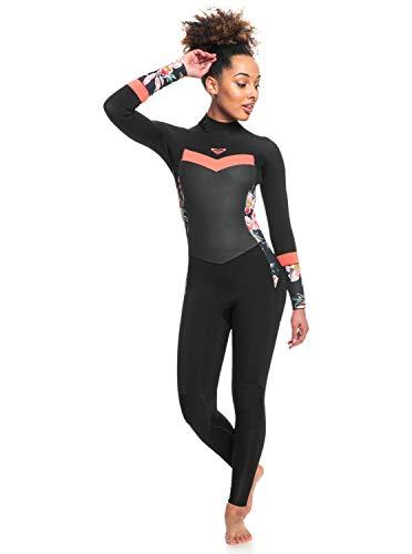 Roxy 3/2mm Syncro - Traje de Surf con Cremallera atrás - Mujer - 8T - Rosa
