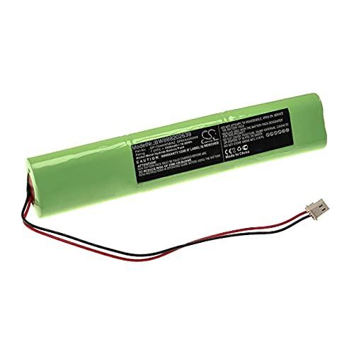 vhbw Batería Recargable reemplaza AEM GP170AAH6SMXZ, GP60AAS6SMX para Sistema Alarma (1500 mAh, 7,2 V, NiMH)