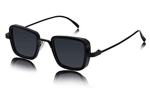 elegante Metal Body Square Inspired from Kabir Singh Sunglass for Men...