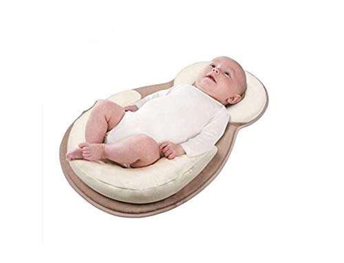 Find Cheap Premium Newborn Lounger Anti-Rollover Baby Positioning Pillow Portable Cotton Breathable ...