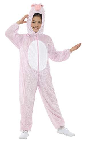 Smiffy's - Disfraz de cerdito para niño o niña, talla M