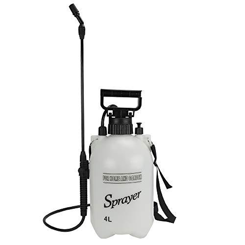 蓄圧式噴霧器 4L 1台 手動 スプレイヤー 肩掛け 散水 噴霧 散布 消毒 除草 水やり 圧縮 園芸 ガーデニング 庭
