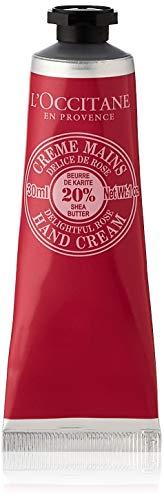 L'Occitane en Provence Delightful Rose Sheabutter Handcreme, 1er Pack (1 x 30 ml)