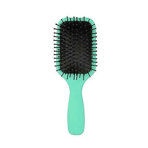 SCAYK Haarkamm Schönheit Antistatische Haarpflegemittel Professionelle Haarbürste Massage Kamm Pinsel für Haare Friseur Friseur (Color : Green)