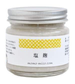 百川味噌 塩麹 無添加 新潟県産コシヒカリ米と赤穂の天塩を使用 150g瓶入り