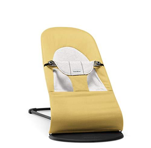 Geschenk: BABYBJÖRN Babywippe Balance Soft, Cotton/Jersey, Gelb/Grau