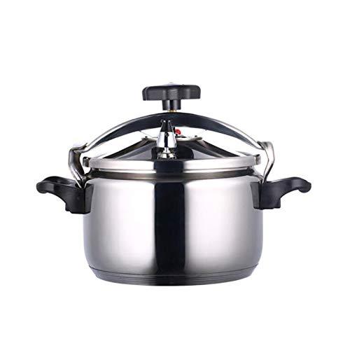 304 Cuisinière à pression en acier inoxydable Grande capacité de cuisson commerciale Pot de cuisson à soupe Pot Puisson anti-déflagrant Cuisinière Double Bas Pot Gas Général Cuisine Restaurant 3L-30L