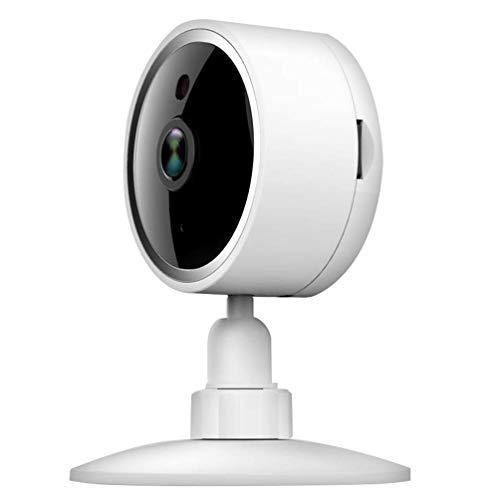 OWEM Drahtlose Überwachungskamera 1080P HD WiFi-Innenkamera Mit Nachtsicht-Heimüberwachung Und Bewegungserkennung Zwei-Wege-Audio, Weiß