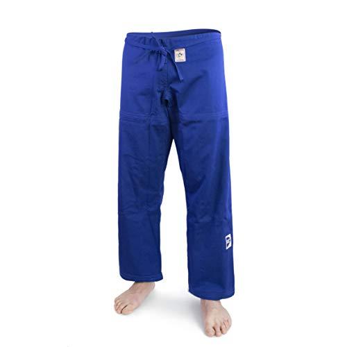 GREEN HILL Pantaloni Judo GI IJF Approved Trousers Greenhill Nuova Vestibilita' (Blu, 170)