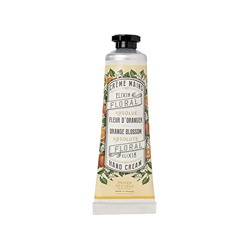 Panier des Sens Crème mains Hydratante Fleur d'Oranger - Made in France - 30ml