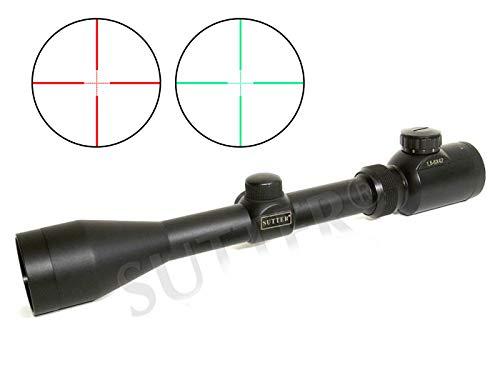 Zielfernrohr 1,5-6x42, Mildot-Absehen (voll beleuchtet), Mittelrohr: 25,4mm / Absehen wechselbar rot und grün/Zielvisier Jagd Sportschießen