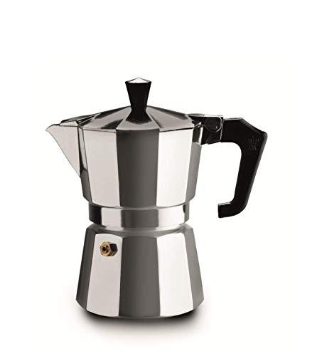 Pezzetti italexpress–Aluminium Kaffeemaschine, 3Tassen Zentimeter grau