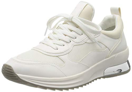 Tamaris Damen 1-1-23728-24 Sneaker, Weiß (White 100), 40 EU
