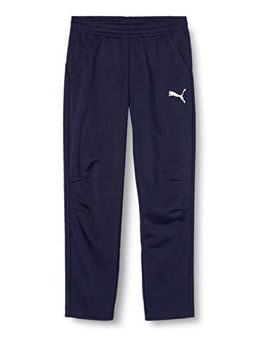PUMA 655774 06 Pantalons Mixte Enfant, Bleu (Peacoat/Puma White), 14 ans (Taille Fabricant : 164)