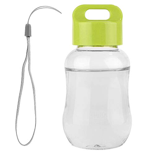 holilest Mug, 180Ml Plastic Water Bottle Mini Cute Water Bottle For Children Kids Portable Leakproof Small Water Bottle -Green